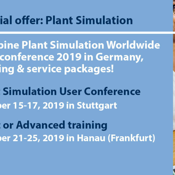 Plant Simulation Worldwide User Conference & Training (ENG) in Germany